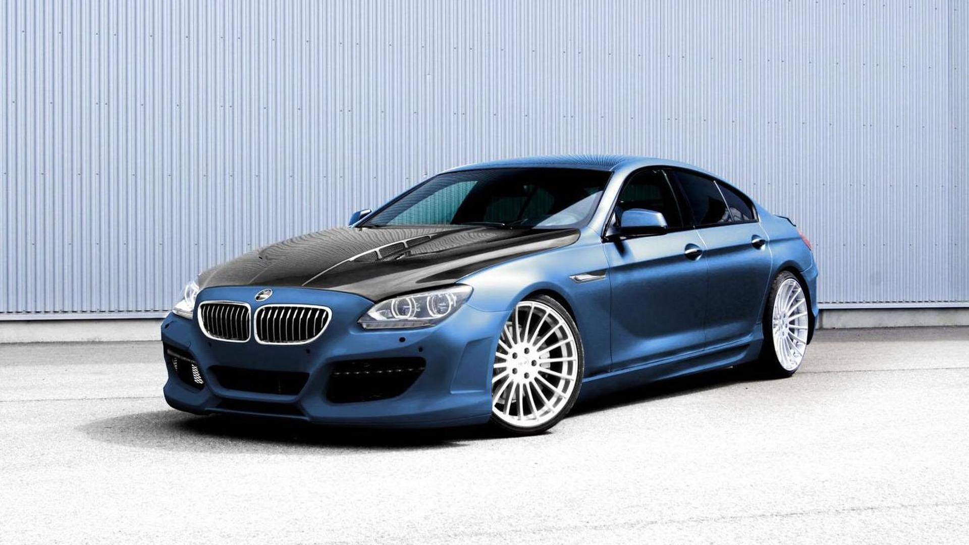 Hamann previews their BMW 6-Series Gran Coupe