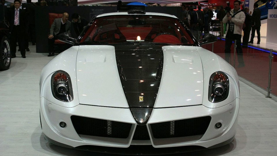 Mansory Stallone Based on Ferrari 599 GTB Fiorano World Debut at Geneva