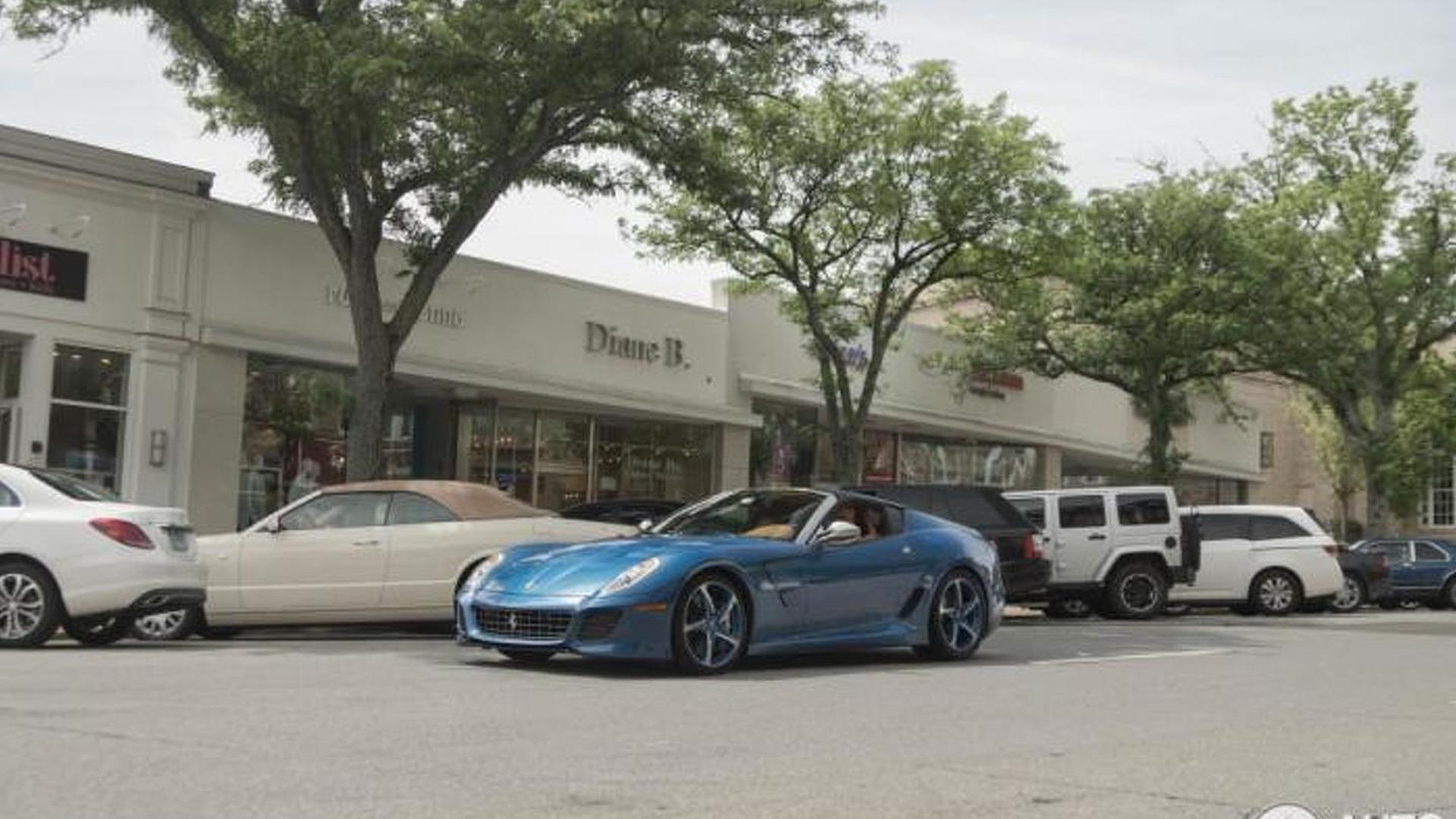 Unique Ferrari Superamerica 45 photographed in United States