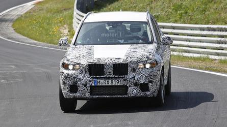 2018 BMW X3 M spy photos