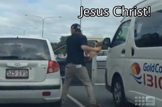 Video: Aussie Skateboarder Has Road Rage to the Max