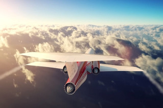 Watch The World's First Private Supersonic Jet