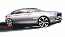 2009 BMW 7 Series F01 sketch