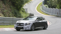2014 Mercedes GLA 45 AMG spied with less disguise