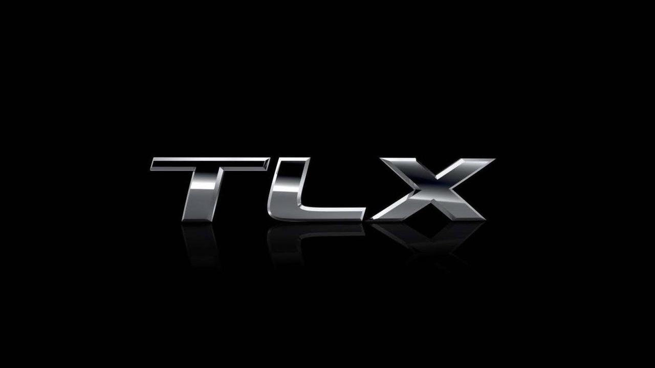 Acura TLX prototype teaser image