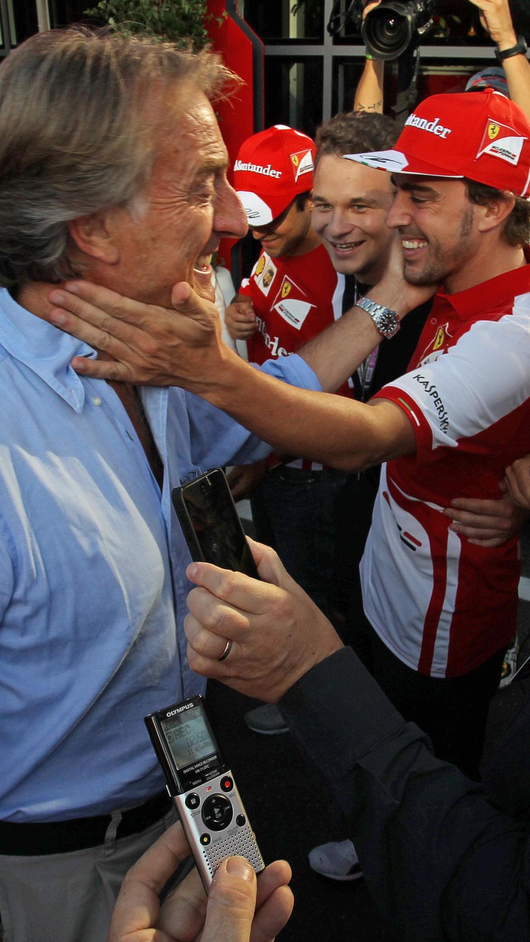 Montezemolo slaps Alonso with Twitter ban