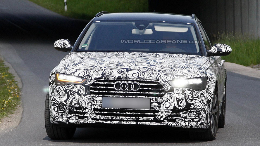 2015 Audi A6 & A6 Avant spied with new Matrix LED headlights