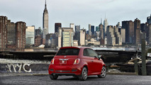 U.S.-spec Fiat 500 unveiled in Los Angeles