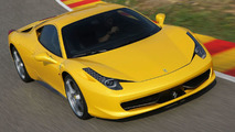 Ferrari recalling 458 Italia in US due to potential risk of getting stuck inside the trunk