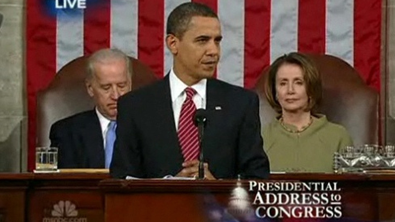 Obama Joint Session of Congress speech - 02.24.2009