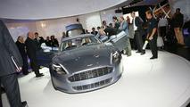 Aston Martin Rapide live at IAA Frankfurt 2009