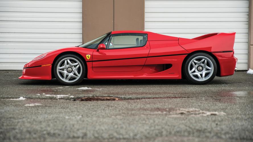 Raridade, Ferrari F50 1995 de Mike Tyson vai a leilão