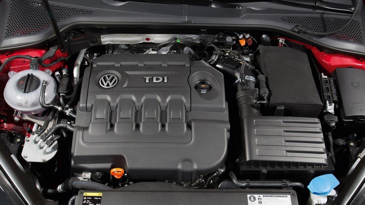 Volkswagen Golf VII with EA288 engine