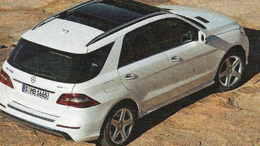 2012 Mercedes-Benz M-Class scans leaked