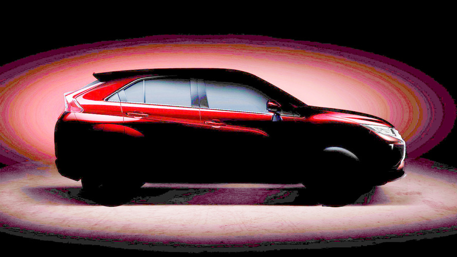 Mitsubishi compact crossover teaser
