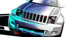 Jeep Trailhawk Concept design sketch