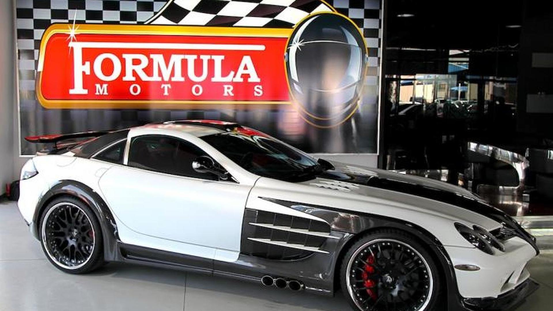 Flashy-looking Mercedes-Benz SLR Volcano by Hamann on sale in Dubai