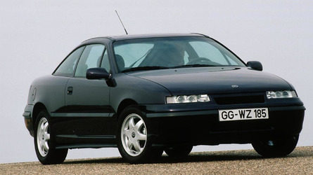 Opel celebrates the 25th anniversary of the Calibra