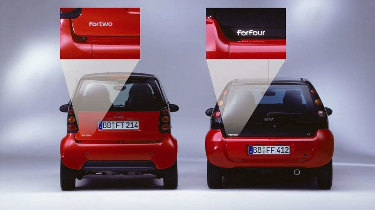 smart City-Coupé Becomes Smart fortwo as of 2004