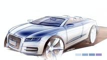A5 Cabrio Sketch