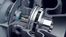 VTG - steep blade angle at high engine speeds