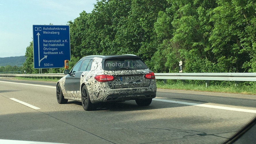 Possible hardcore Mercedes-AMG C63 wagon spied by reader