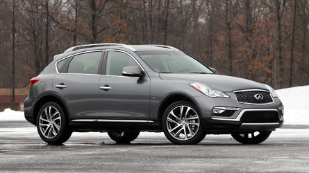 2017 Infiniti QX50 Review: Gone stale