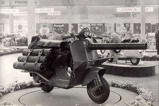 A Scooter on Steroids: The Vespa 150 TAP