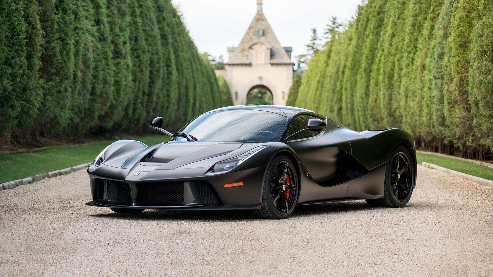 Matte Black Laferrari Horse From Hell Sells For 4 7m At