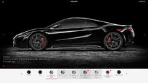 Acura NSX goes up for order, configurator launched