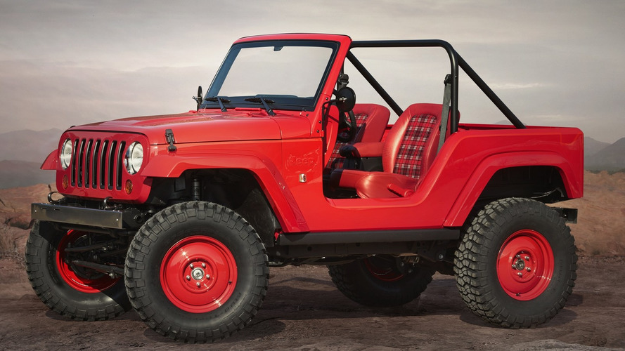 Jeep unveils seven concepts for the Moab Easter Jeep Safari