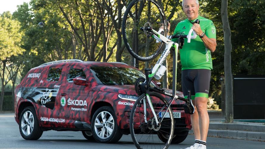 Skoda Kodiaq at Tour de France