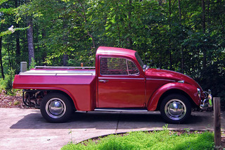 You Can't Help But Love This 1967 VW Beetle Pickup Truck Conversion