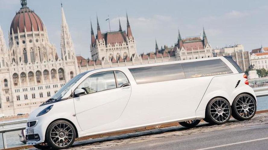 Six-wheeled Smart limousine set to shock Frankfurt Motor Show [video]