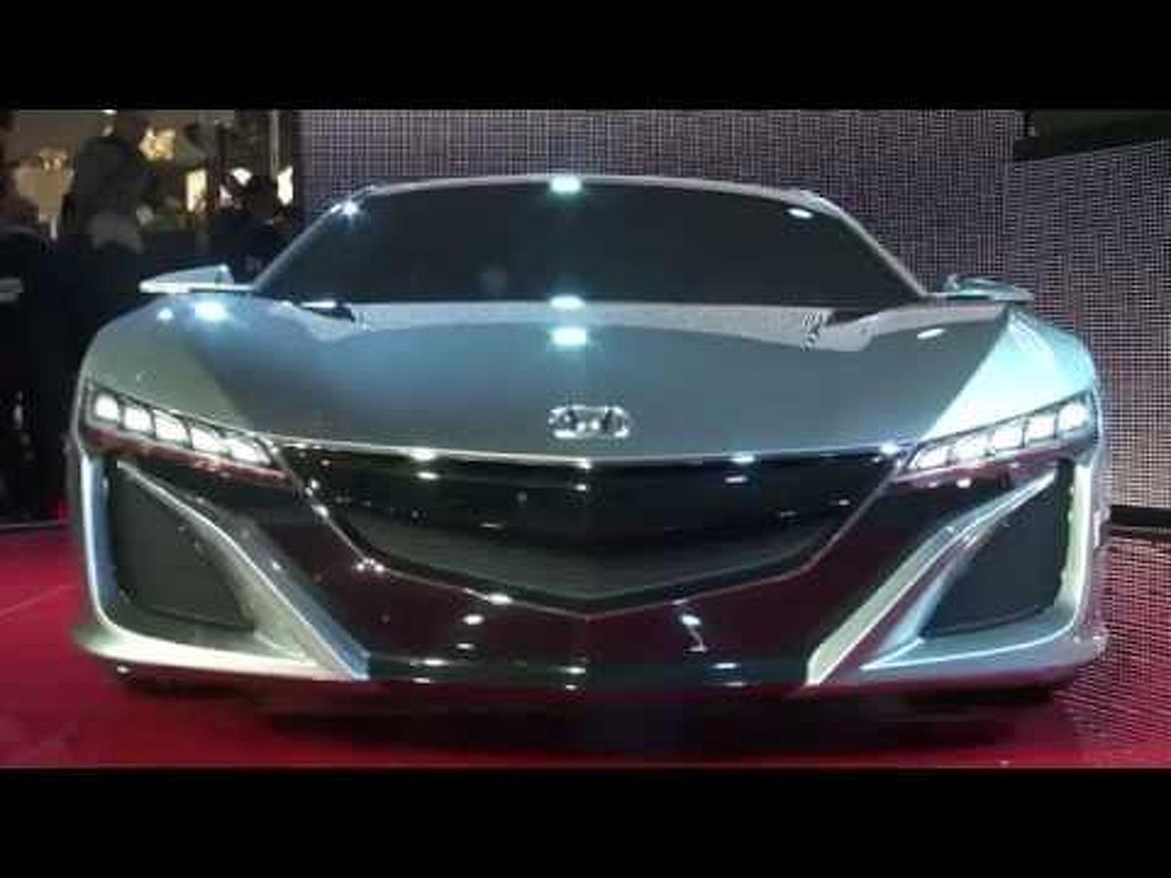 Honda NSX Concept Live Stand Geneva 2012