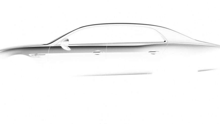 2014 Bentley Continental Flying Spur teased [video]