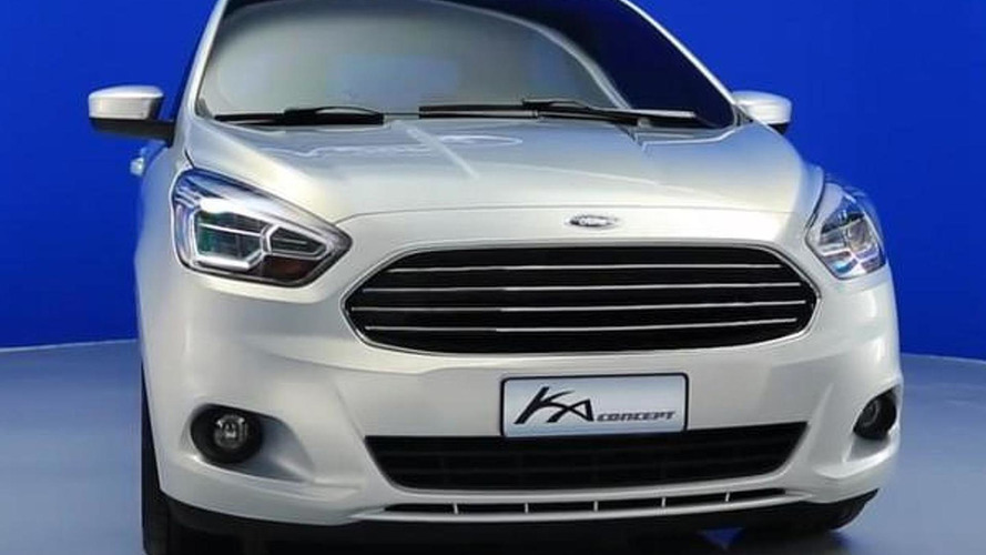 2014 Ford Ka near-production concept revealed