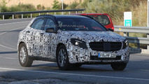2014 Mercedes GLA spied yet again