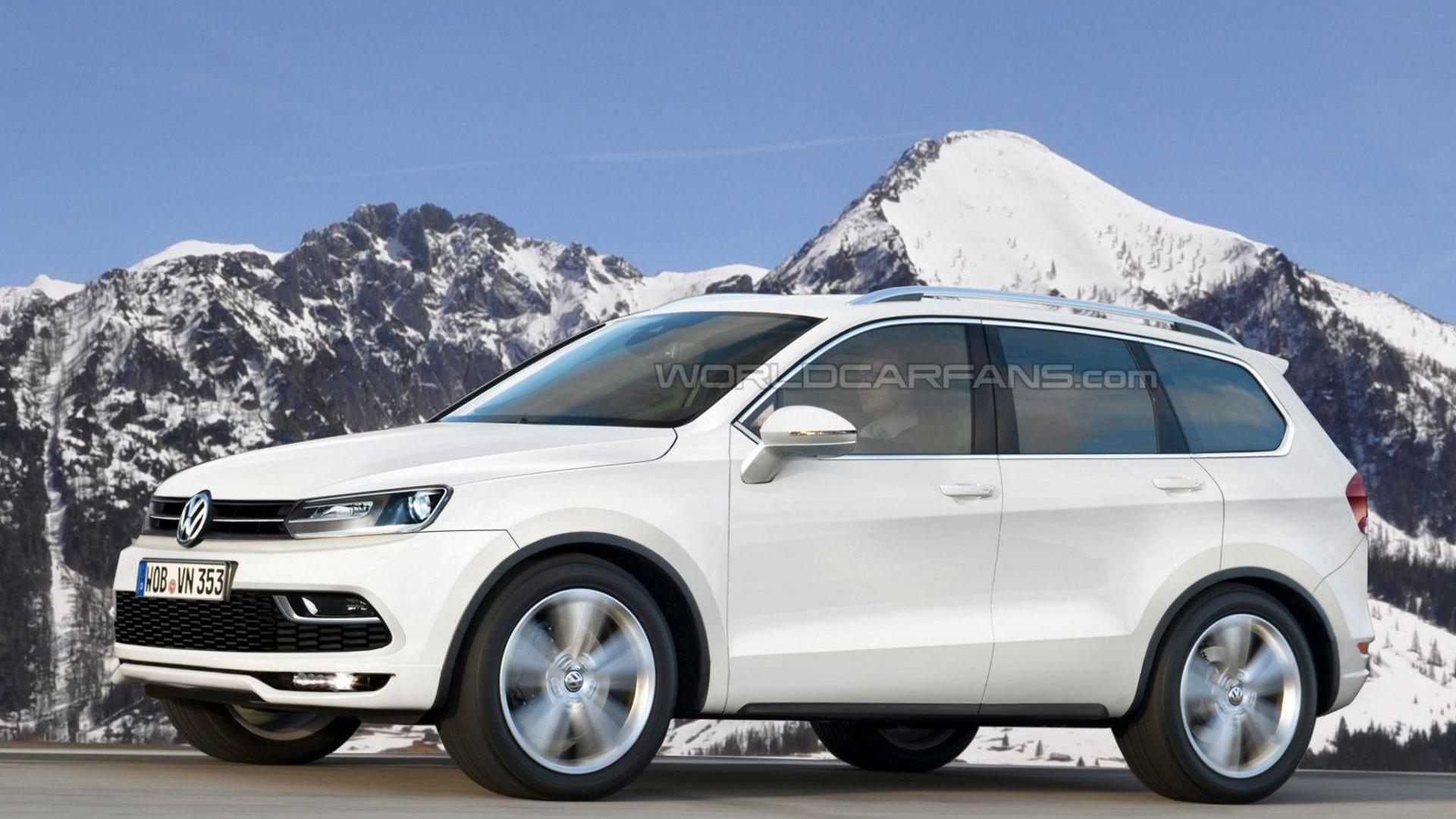 Volkswagen seven-seat crossover coming to Detroit, Routan could be dropped - report