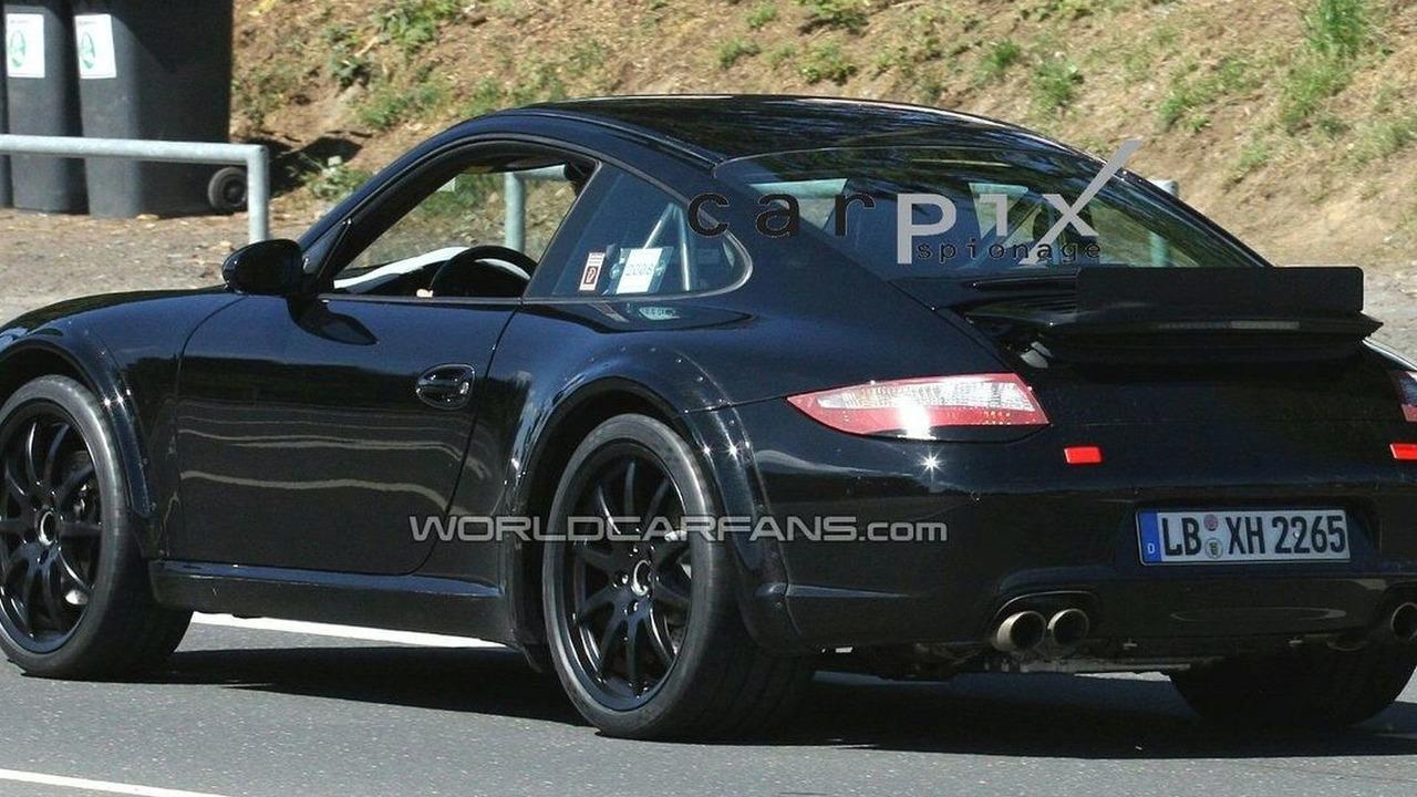 Porsche 998 mule prototype spy photos