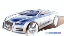 Audi Releases A5 Cabrio, Sportback, A7 and Next Gen A8 Sketches