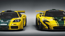 McLaren P1 GTR production version & McLaren F1 GTR chassis #06