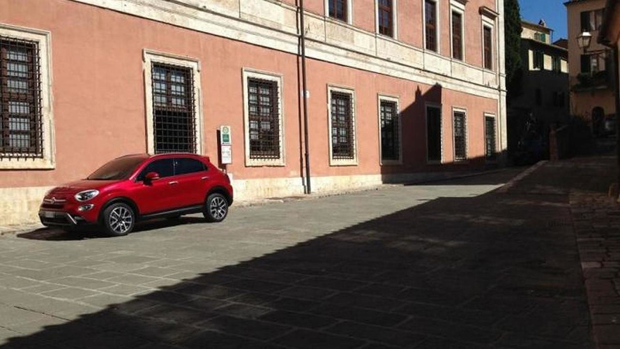 Fiat 500X first official image leaked