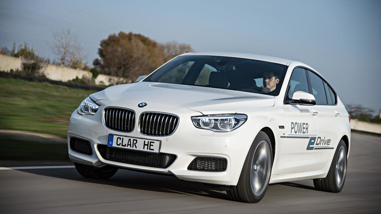 BMW 5-Series GT with eDrive and TwinPower Turbo technology