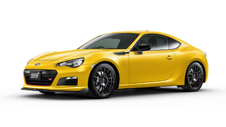 Subaru trademarks BRZ tS in the U.S.