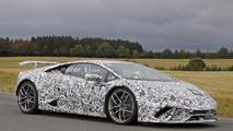 2018 Lamborghini Huracan Superleggera spy photo