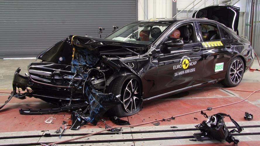 Latest Mercedes E-Class, Peugeot 3008 score top Euro NCAP marks