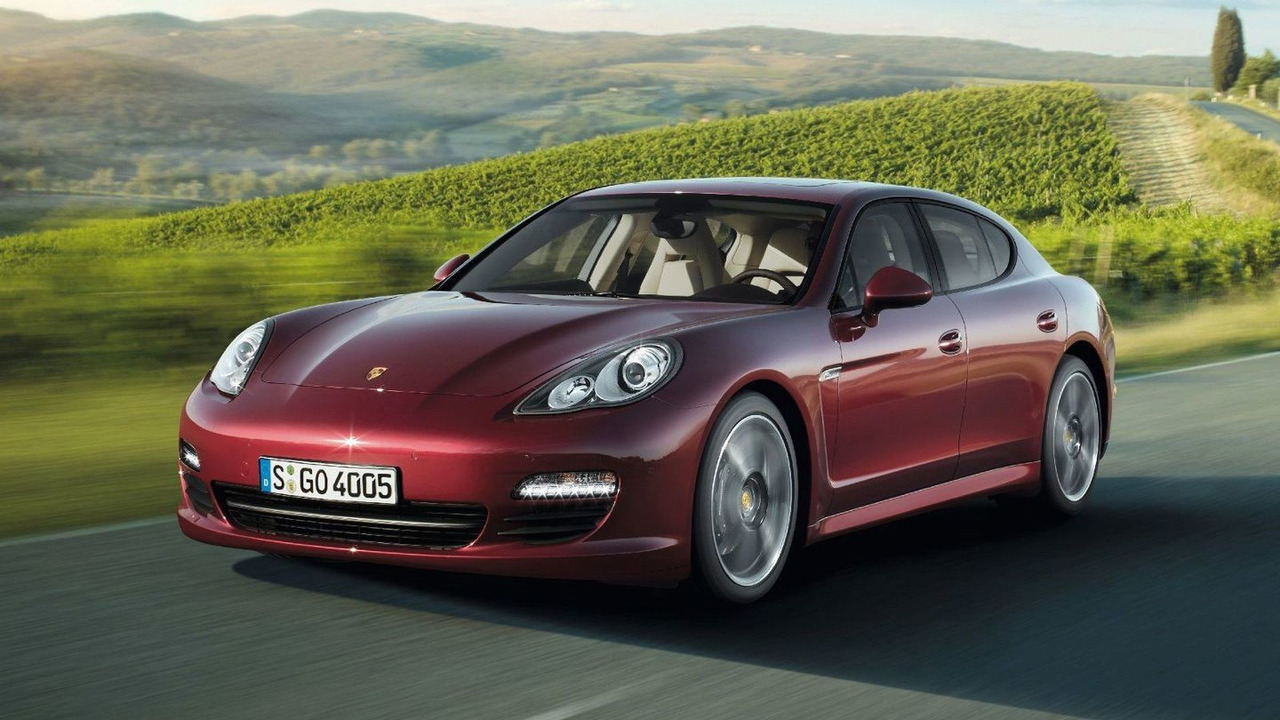 Porsche Panamera V6 first photos - 16.02.2010