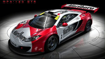 McLaren MP4-12C GTR Rendered
