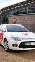 Citroën C4 Arsenal Fans Car